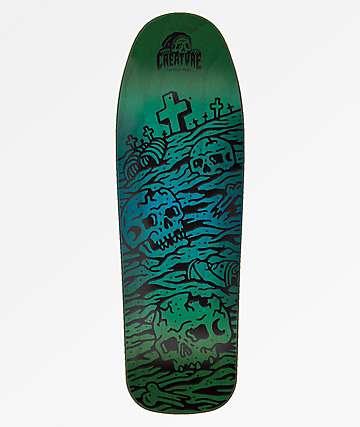 "Creature x Sketchy Tank Graveyard 9.75"" Skateboard Deck"