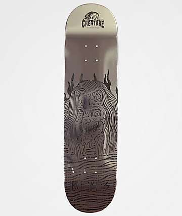 "Creature x Sketchy Tank Melted Reyes 8.0"" Skateboard Deck"