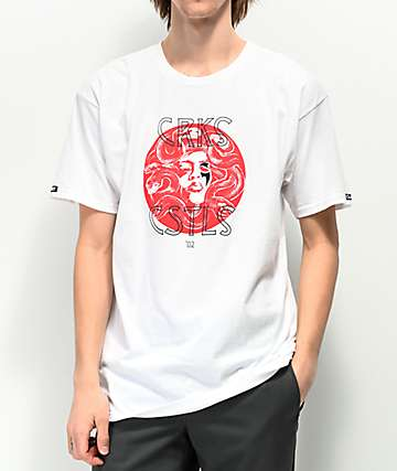 Crooks & Castles 3 Gorgon Sisters White T-Shirt