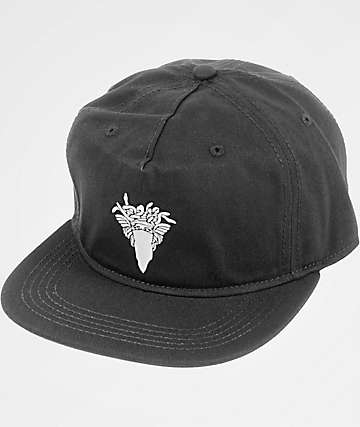 Crooks & Castles Bandusa Black Snapback Hat