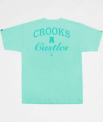 Crooks & Castles C&C Turquoise T-Shirt
