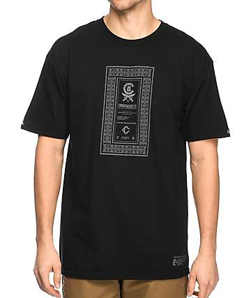 Crooks & Castles Classified Black T-Shrit