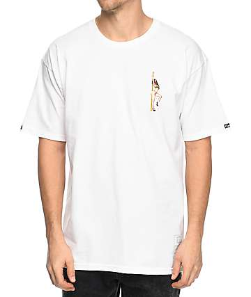 Crooks & Castles Get Paid camiseta blanca