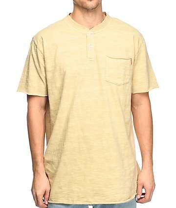 Crooks & Castles Interceptor camiseta henley con bolsillo