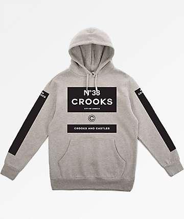 Crooks & Castles Klepto 2 Grey Hoodie