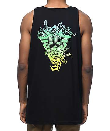 Crooks & Castles Medusa Fade Black Tank Top
