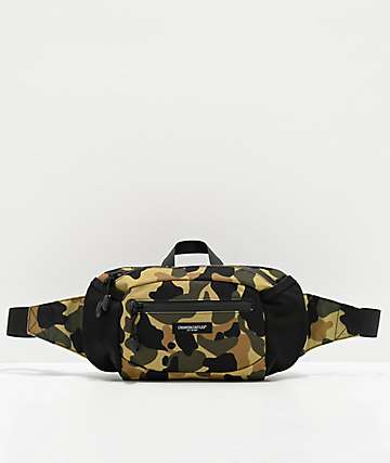 Crooks & Castles New Core Camo Fanny Pack