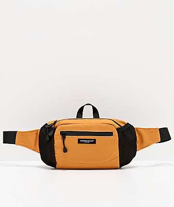 Crooks & Castles New Core Mustard Fanny Pack
