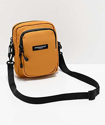 Crooks & Castles New Core Mustard Shoulder Bag