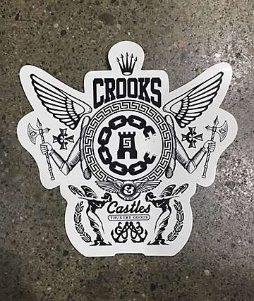 Crooks & Castles OG Lockup Sticker