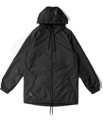 Crooks & Castles Pursuit Black Parka Jacket