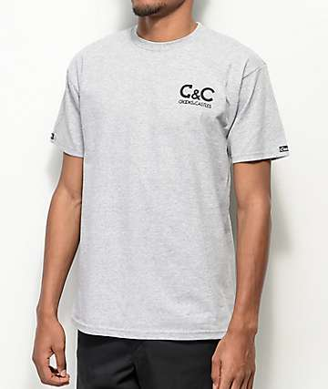 Crooks & Castles C&C Grey T-Shirt