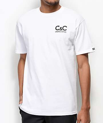 Crooks & Castles C&C White T-Shirt