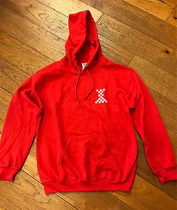 Crooks & Castles Castle Red Hoodie