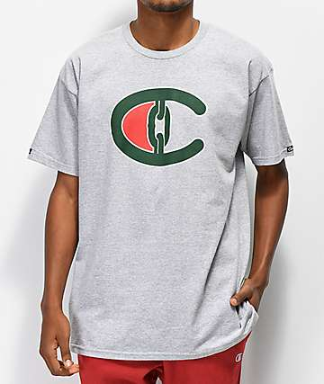 Crooks & Castles Champs Heather Grey T-Shirt