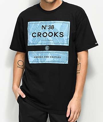 Crooks & Castles Coca Cab N38 Black T-Shirt