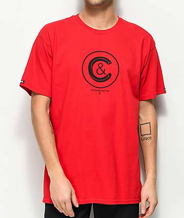 Crooks & Castles Crusher Red T-Shirt