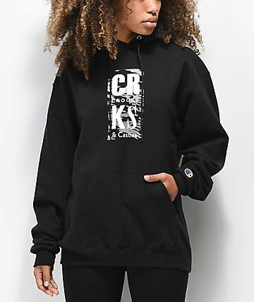 Crooks & Castles Elusive Lock Up Black Hoodie