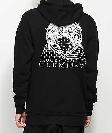 Crooks & Castles Illuminati Black Hoodie