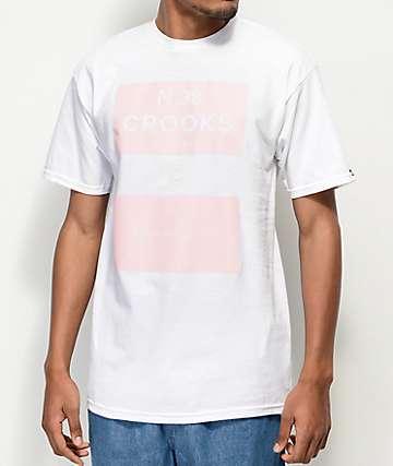 Crooks & Castles Klepto White T-Shirt