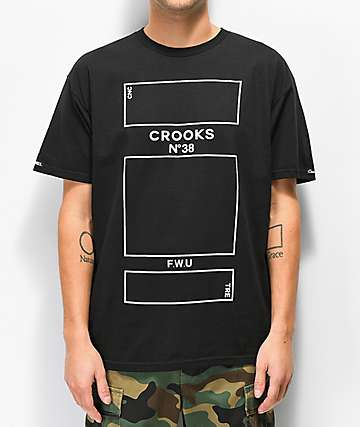 Crooks & Castles Parfum Black T-Shirt