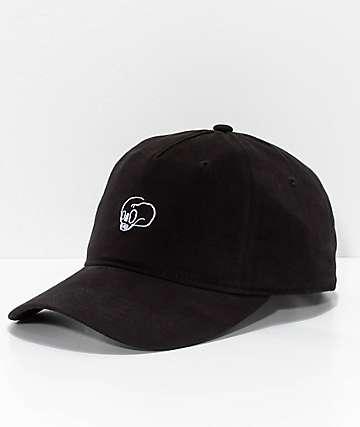 Crooks & Castles Skull Black Strapback Hat