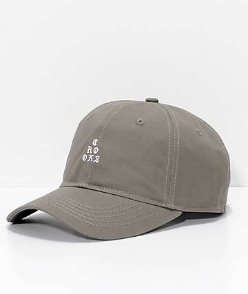 Crooks & Castles Stacked Rifle Green Strapback Hat