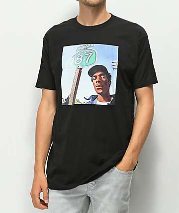 Cross Colours 90's Legends Snoop Black T-Shirt