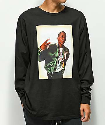 Cross Colours 90's Legends Too Short Black Long Sleeve T-Shirt