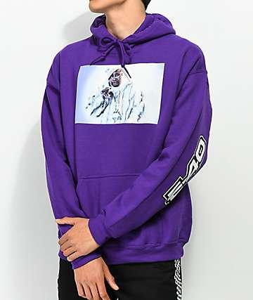 Cross Colours 90s Legend E-40 Purple Hoodie