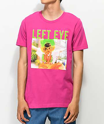 Cross Colours 90s Legend Left Eye Pink T-Shirt