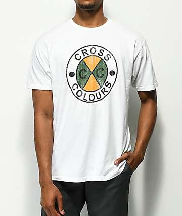 Cross Colours CC Logo White T-Shirt