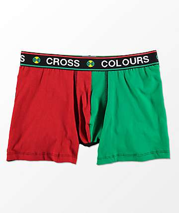 Cross Colours Color Block Boxer Briefs