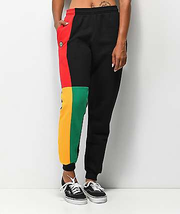 Cross Colours Colorblock Sweatpants