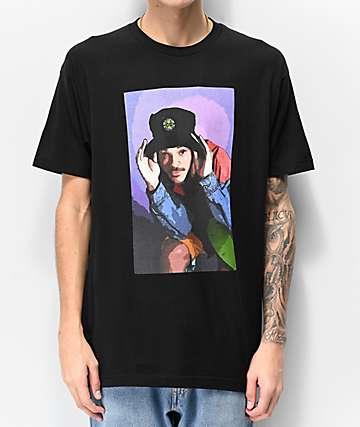 Cross Colours Fresh Prince Illustration Black T-Shirt