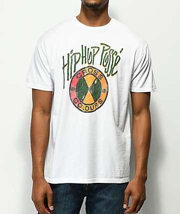 Cross Colours Hip Hop Posse White T-Shirt