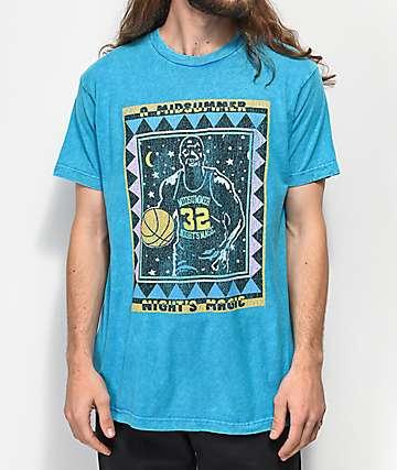 Cross Colours Midnight Magic camiseta turquesa