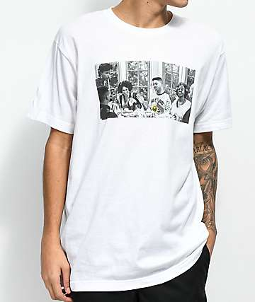 Cross Colours Prince Dinner White T-Shirt