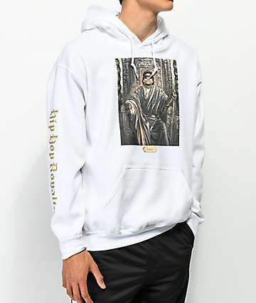 Cross Colours Royalty Eazy-E White Hoodie