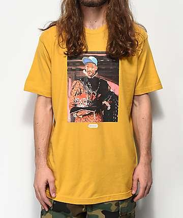 Cross Colours Royalty Fresh Prince camiseta dorada