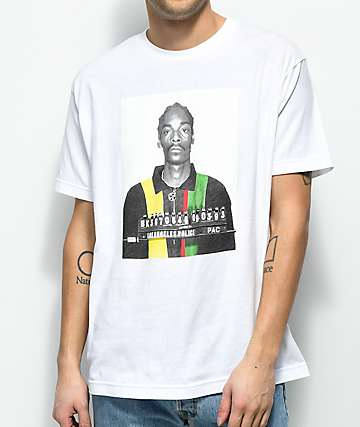 Cross Colours Snoop Mug White T-Shirt