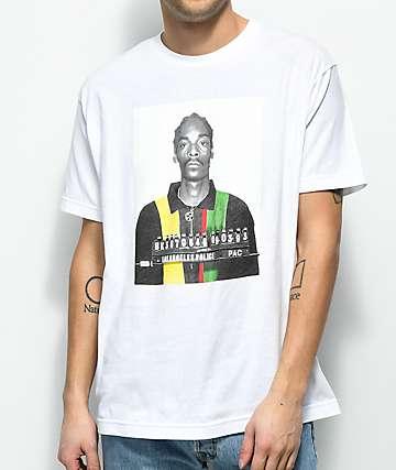 Cross Colours Snoop Mug camiseta blanca