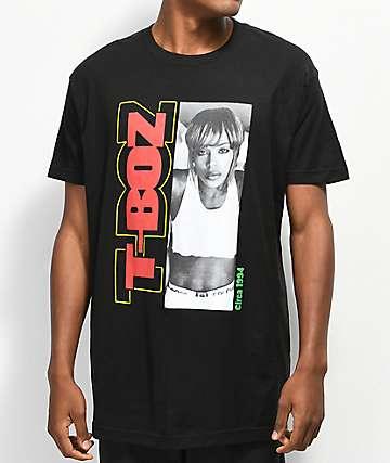 Cross Colours T-Boz Circa 1994 camiseta negra