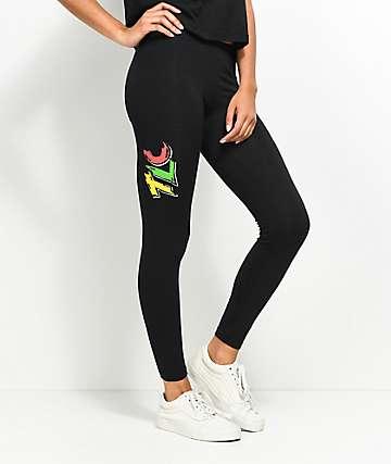 Cross Colours TLC 92 Black Leggings