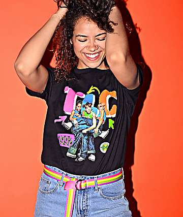 Cross Colours TLC Tour Black T-Shirt