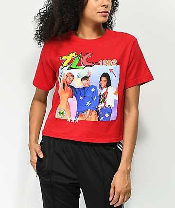 Cross Colours TLC camiseta corta roja