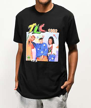 Cross Colours TLC camiseta negra