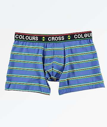 Cross Colours calzoncillos boxer azules de rayas