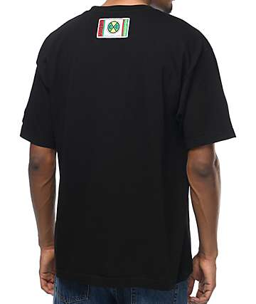 Cross Retro Black T-Shirt