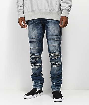 Crysp Ali Vintage Stone Skinny Jeans